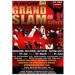 Logo of KWON Grand Slam Series 2017 (No 1)