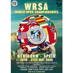 Logo of WRSA World Open Chamionships