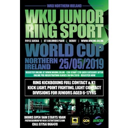 Logo of WKU Junior World Cup