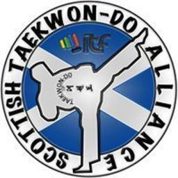 Logo of Scottish Taekwon-do Alliance 5th junior championships.