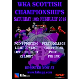 Logo of WKA Scottish Championships