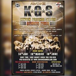 Logo of K*G*S (Kwon Grand Slam Series 2018) No.1