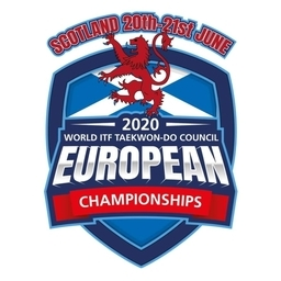 Logo of 2020 European Open ITF Taekwon-Do Championships