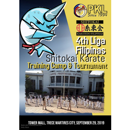 Logo of 4th Liga Filipinas Shitokai Karate Tournament & Training Camp