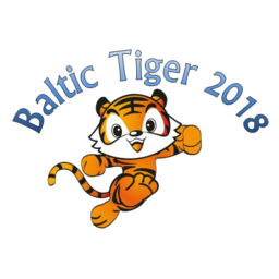 Logo of International Child & Youth TKD Games Baltic Tiger Cup 2018