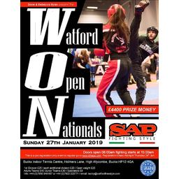 Logo of The Watford Open Nationals (The WON)