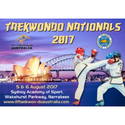 Logo of 2017 ITF TaeKwon-Do (Aust) National Championships