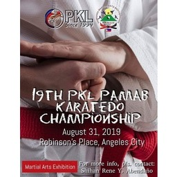 Logo of 19th PKL PAMAB Karate Tournament & Training Camp
