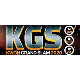 Logo of K*G*S Kwon Grand Slam 2020 [2]