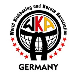 "Logo of WKA German Open Ringsports ""Fight for Gold 2020"""