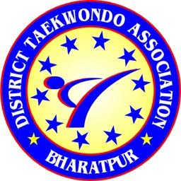 Logo of 4th Bharatpur District Taekwondo Championship 2018