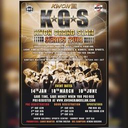 Logo of K*G*S (kwon grand slam series) No.2 2018